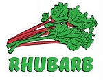 Item No P26RHU   Rhubarb Marketteers