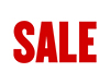 Item No P26SALE SALE Poly Marketeer Sign