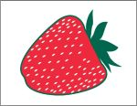 Item No P26STR Strawberry Marketeer