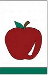 Item No  P28APPR Red Apple Ex-Flag