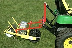 Item No JH6  Six Row Seeder mounted on 3 Point Hitch