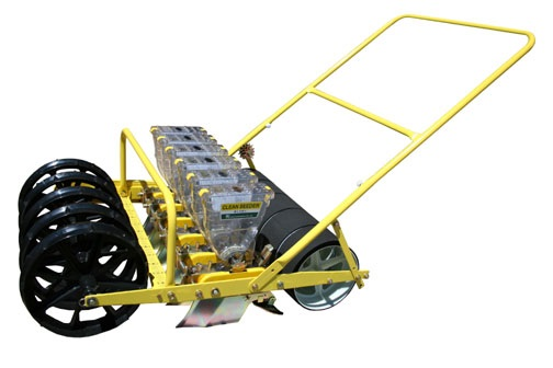 Item No Jp6 Sixone Row Hand Clean Seeder Planter Six Row Hand Push