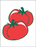 Item No. P21TOM Tomatoes Road Sign